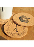 Paris Cork Coasters (4pcs)