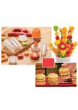 Plastic Fruit Shape Cutter Set