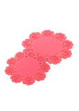 Silicone Flower Coasters