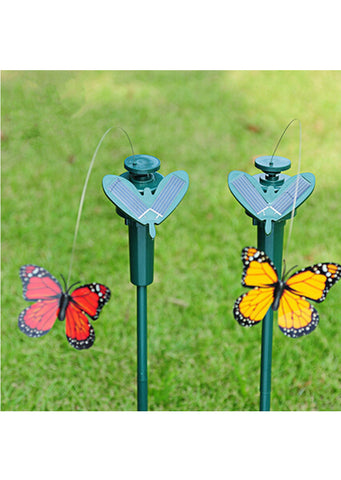 Solar Power Butterfly Flutter Ornament