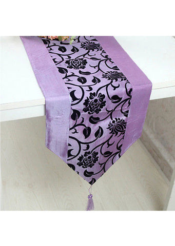 "Table Flower Runner Cloth (78""X12"")"