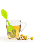 Silicone & Stainless Steel Tea Leaf Tea Filter