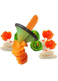 Vegetable Slicer Flower Roll