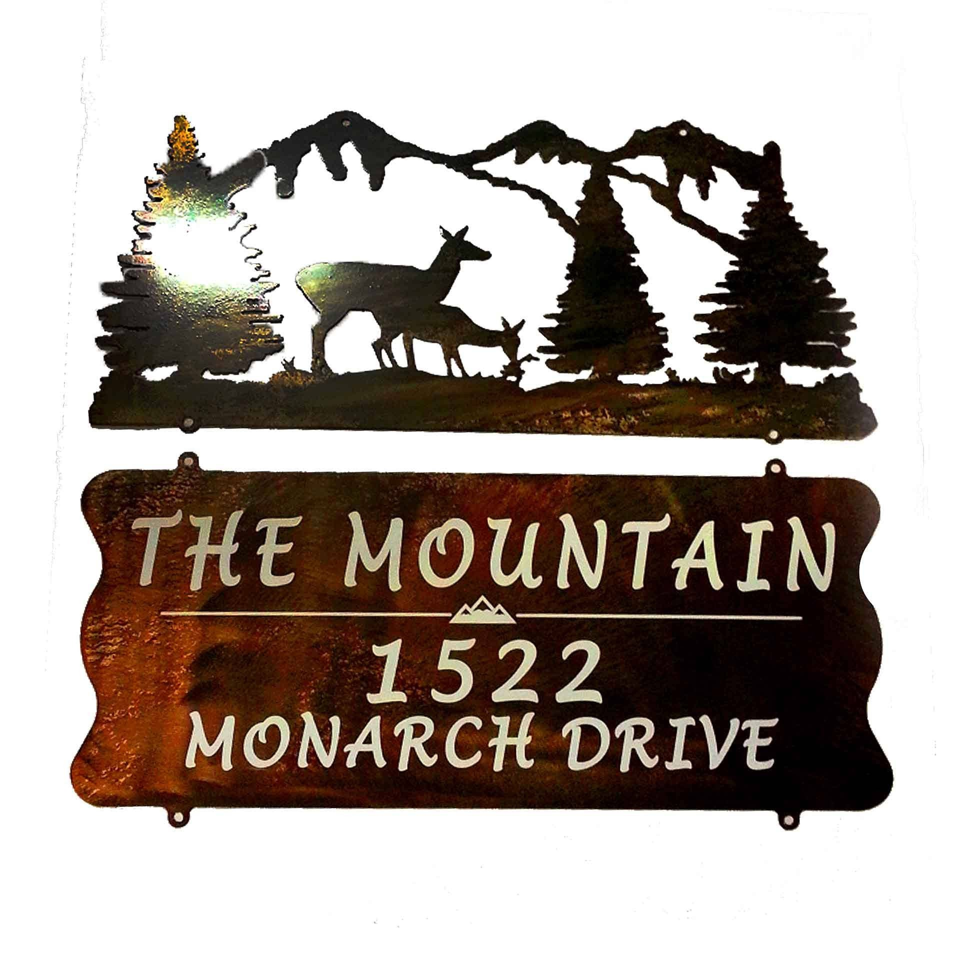 Shop For Custom Metal Signs At Lci Signs: Address Sign, Metal Signs, Ranch  Signs, Sign Hanger