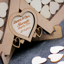 Load image into Gallery viewer, Wedding Linked Heart Drop Box