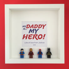Load image into Gallery viewer, Mini Figure Super Hero Gift Frame - I Heart Unique - 1