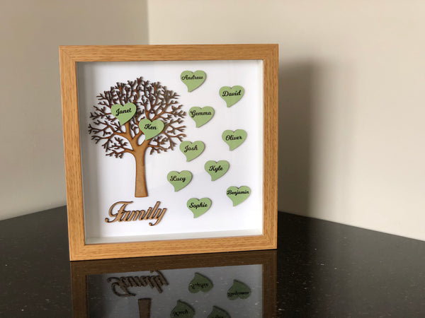 Family Tree Frame - Large Family