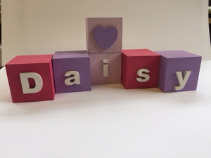 Children's Name Blocks