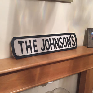 Personalised wooden street signs - I Heart Unique - 2