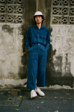 Leisure Trousers No.2 - Indigo