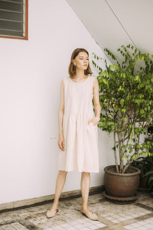 Harvest Dress - Natural
