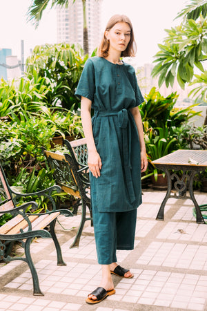 Leisure Dress - Pine