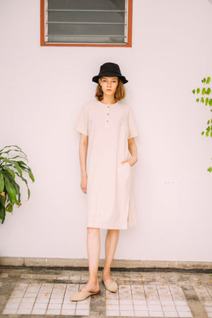 Leisure Dress - Natural