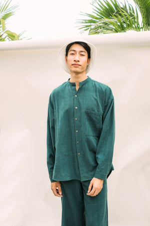 Poet Shirt No.2 - Pine