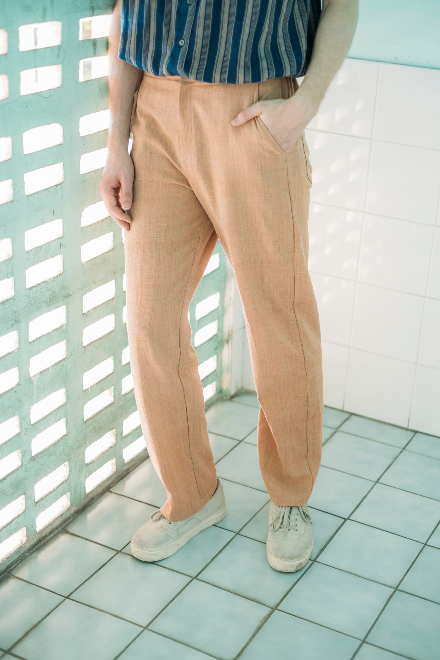 Leisure Trousers - Terracotta