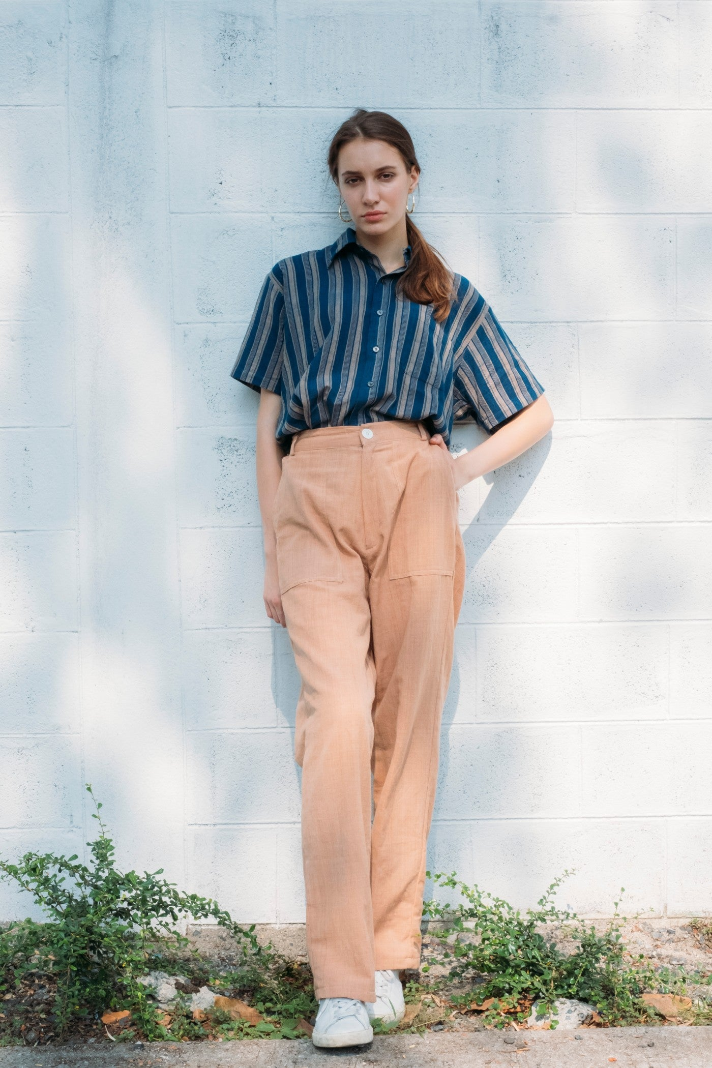 Cargo Trousers - Terracotta
