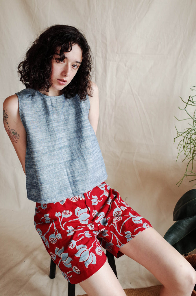Signature Shorts - Water Lilies