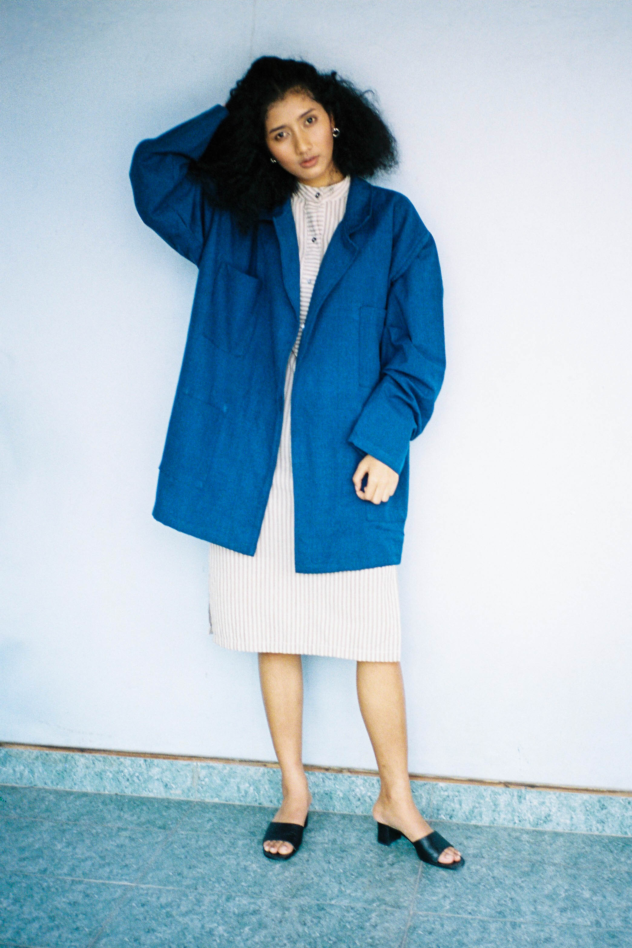 Anywhere Jacket - Indigo