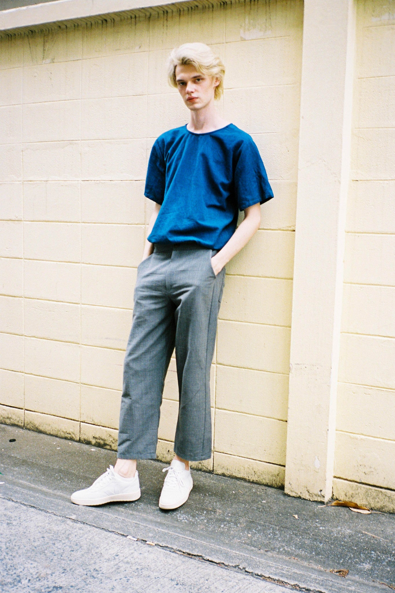 Two-way Tee - Indigo
