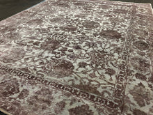 "9' x 11'8"" Hand-Knotted - 100% Wool & Silk - Area Rug"