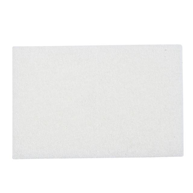Norton - Hand Pads - 6 x 9 Inches - White - 10 Count