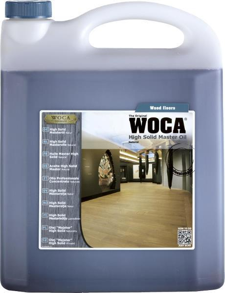 WOCA - High Solid Master Oil - Natural - 5 Liter
