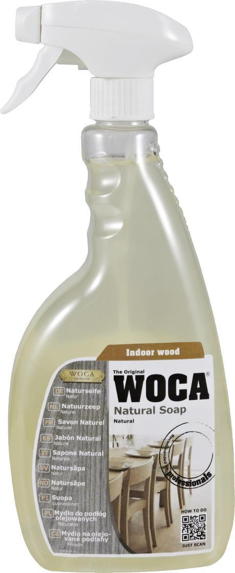 WOCA - Natural Soap Spray - 0.75 Liter