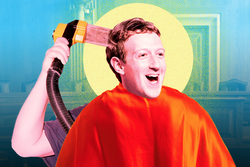 DOES Mark ZUCKERBERG CUT HIS HAIR WITH THE FLOWBEE® ?