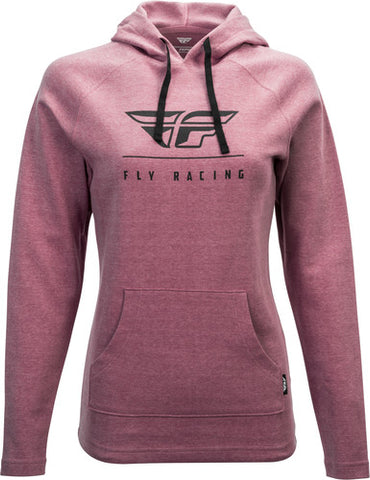 Fly Racing, Ladies Crest Hoodie