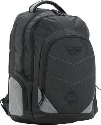 2018, Fly Racing Main Event Backpack Black/Grey