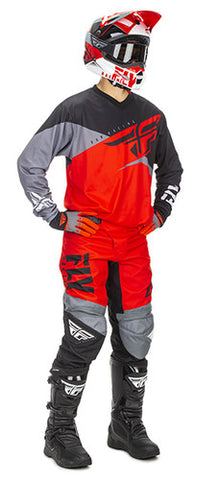 2019, FLY Racing YOUTH F-16 Gear Package, Red/Blk
