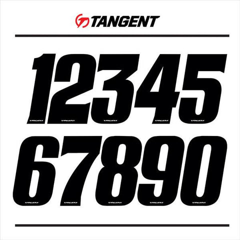 "Tangent, 3"" Numbers"