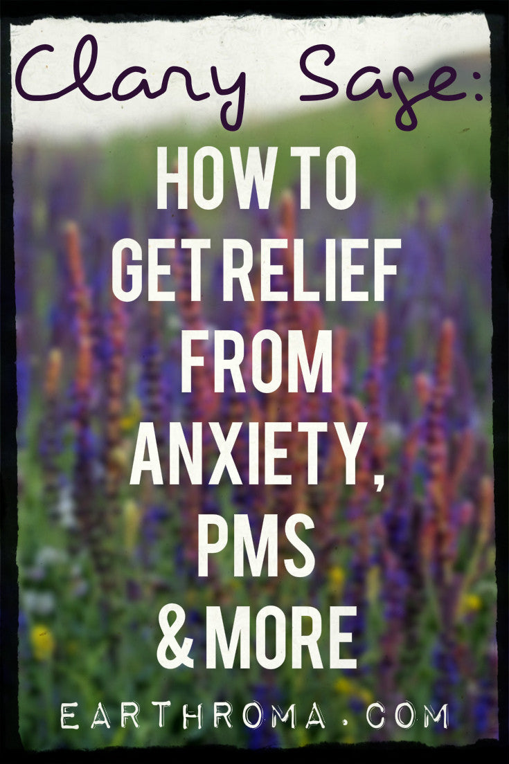 Clary Sage Essential Oil Uses How To Get Relief From Anxiety Pms