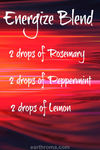 Energize Essential Oil Diffuser Blend Recipe