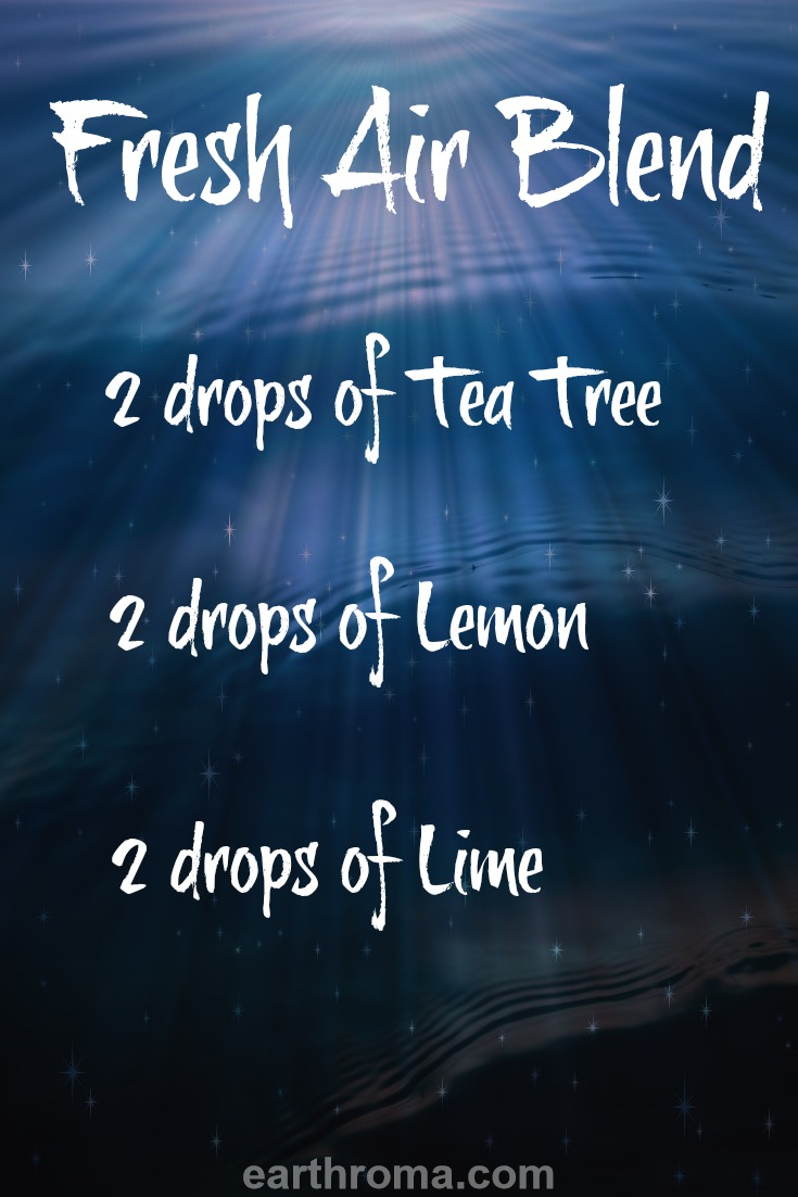 Fresh Air Essential Oil Diffuser Blend