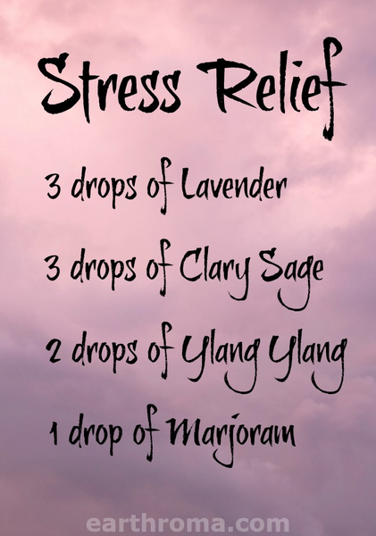 Stress Relief Essential Oil Blend Recipe