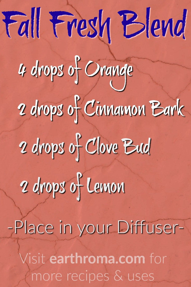 Fall Fresh Essential Oil Diffuser Blend Recipe