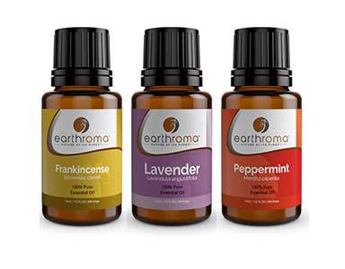 Essential Oil 3 Pack Gift Set Earthroma $21.97