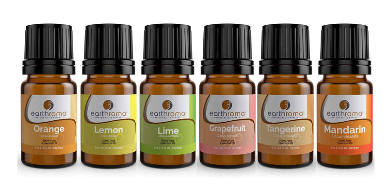 Fruit Essential Oil Gift Set (6 Pack) Earthroma $32.97