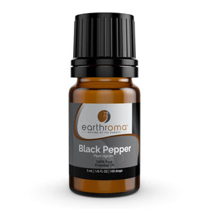 Black Pepper Essential Oil oils Earthroma $6.97