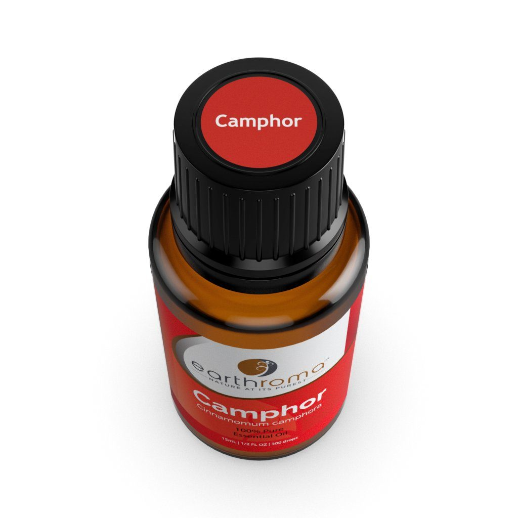 Camphor (white) Essential Oil oils Earthroma $5.97