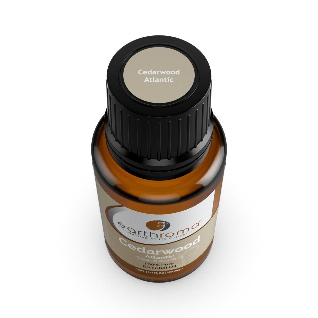 Cedarwood Atlantic Essential Oil oils Earthroma $5.97