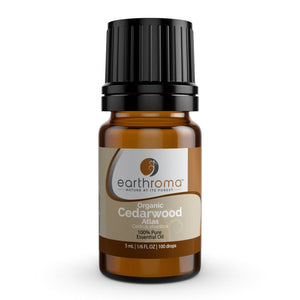 Cedarwood (Organic) Atlas Essential Oil oils Earthroma $17.97