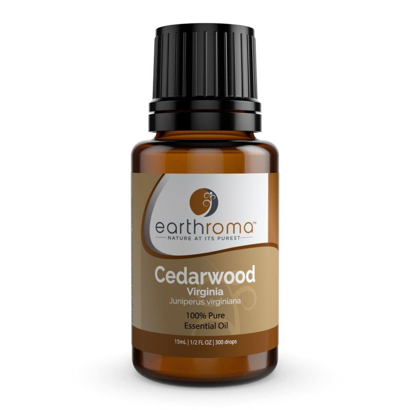 Cedarwood Virginia Essential Oil oils Earthroma $5.97