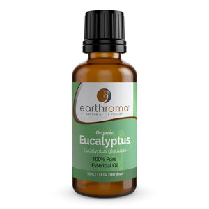 Organic Eucalyptus Essential Oil 15ml (1/2 OZ.)