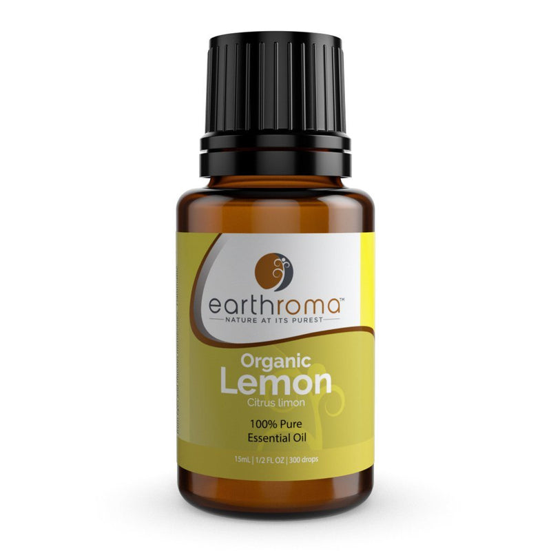 Lemon (Organic) Essential Oil oils Earthroma $4.98