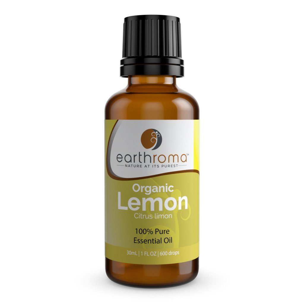 Lemon (Organic) Essential Oil oils Earthroma $10.97