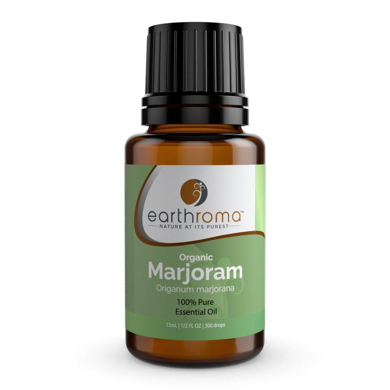 Organic Marjoram Essential Oil 15ml (1/2 OZ.)