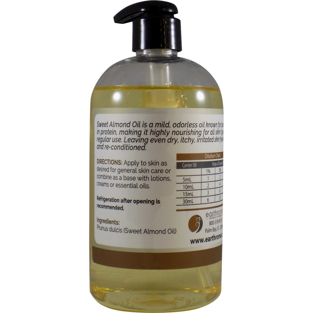 Sweet Almond Carrier Oil oils Earthroma $10.99