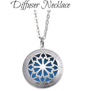 Round Diffuser Necklace